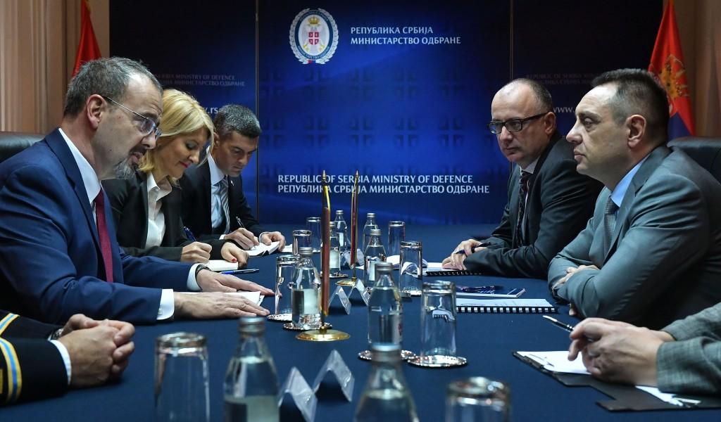 Састанак министра Вулина и амбасадора САД Годфрија