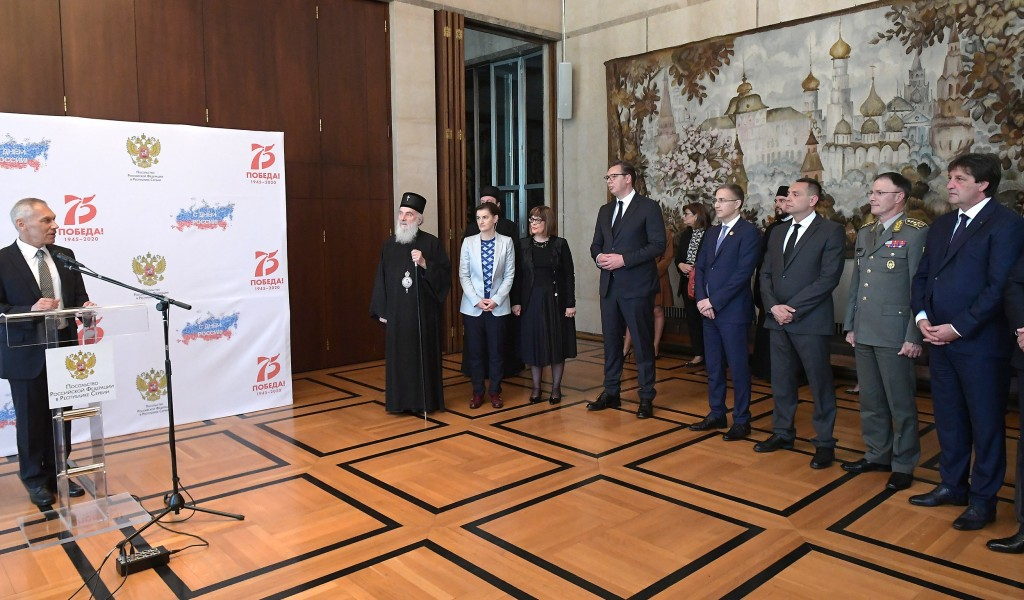 Ceremony at the Embassy of the Russian Federation on the occasion of Russia Day