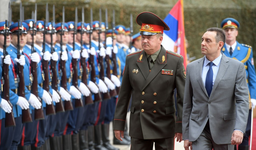 Excellent cooperation between Ministries of Defense of Serbia and Belarus