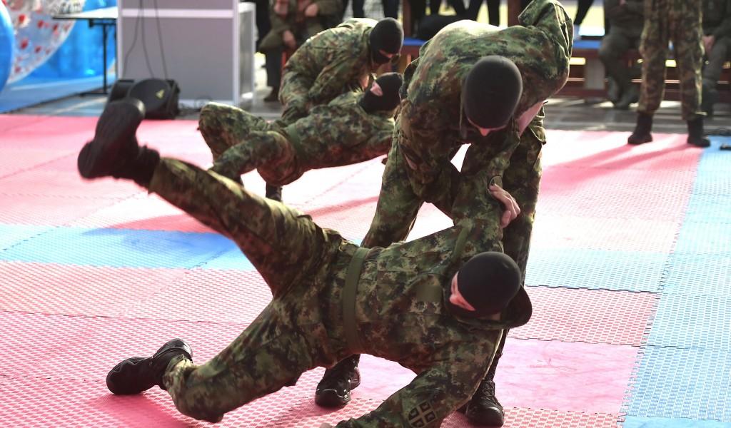 Министарство одбране и Војска Србије на овогодишњем Сајму спорта