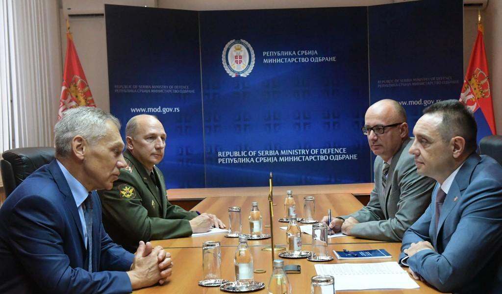 Састанак министра Вулина и амбасадора Боцан Харченка