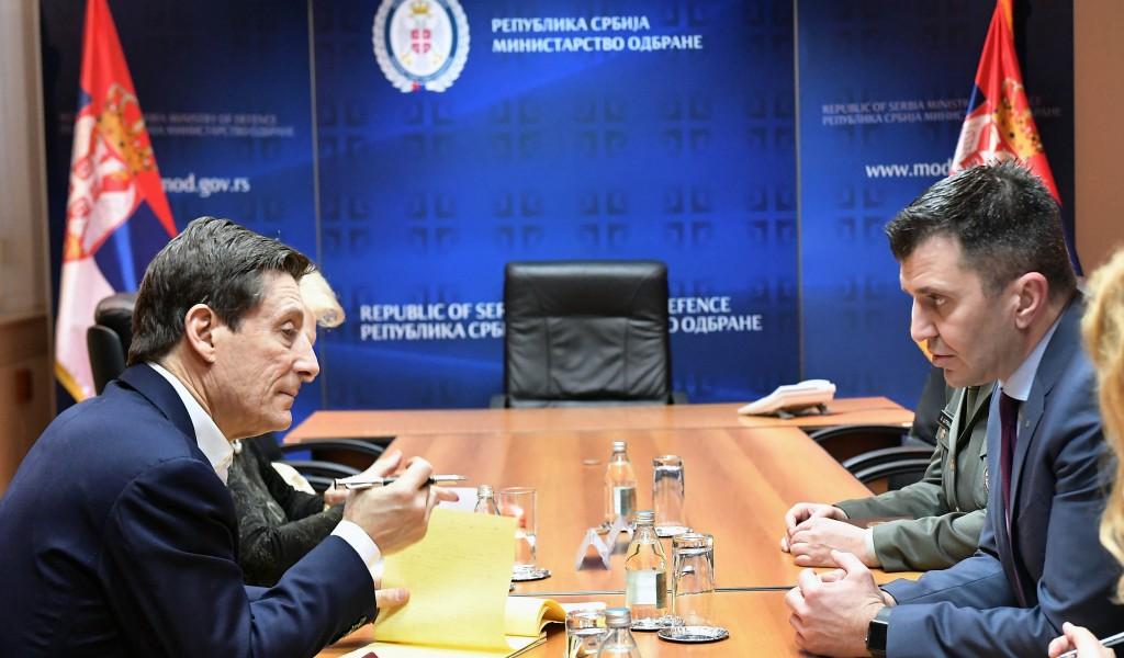 Састанак министра одбране са представницима Светске банке