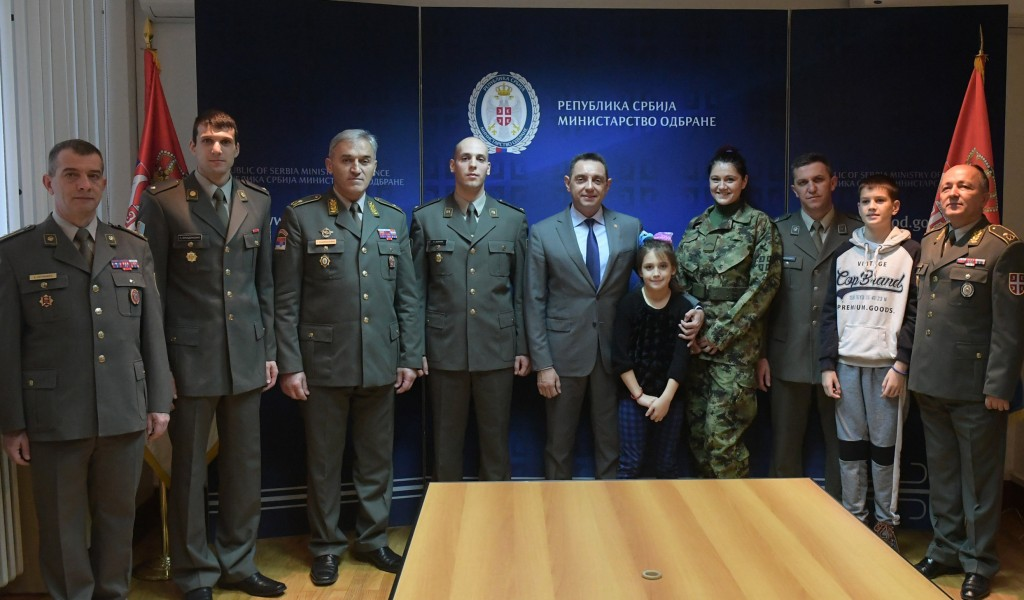 Minister Vulin The Serbian Armed Forces are guardian of traditional family values