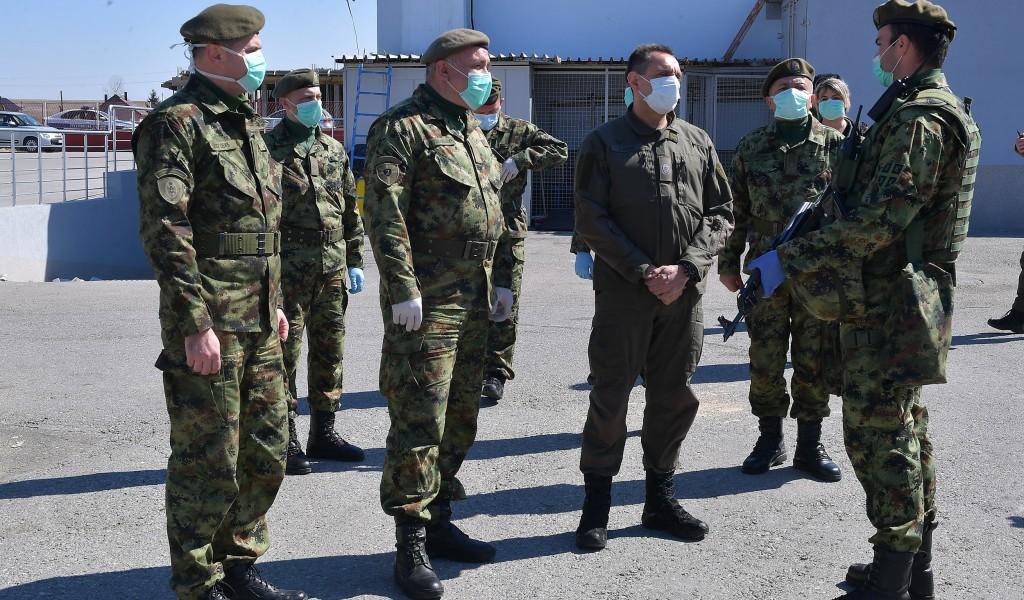 Ministar Vulin u Sjenici Vojska Srbije je dobrodošla i u Sjenici i u Beogradu bez izuzetka
