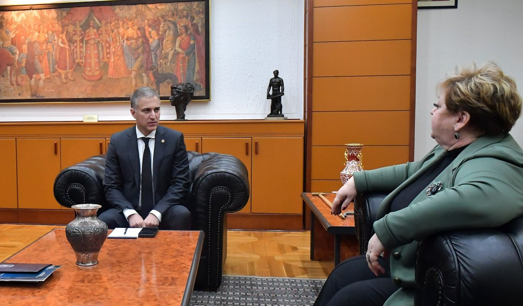 Састанак министра Стефановића са министарком привреде Анђелком Атанасковић