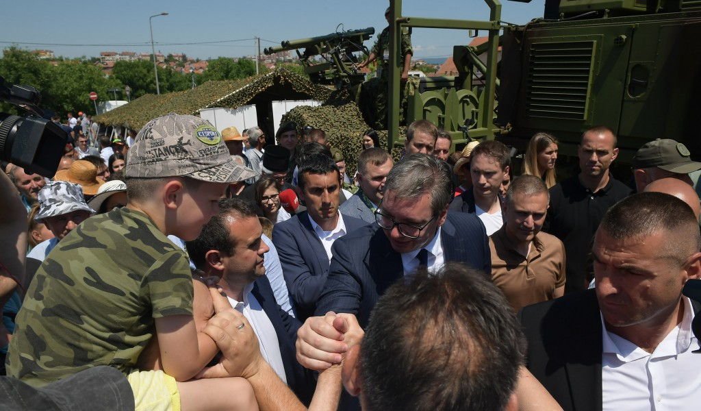 President Vučić In nine months the Serbian Armed Forces Will Double their Power