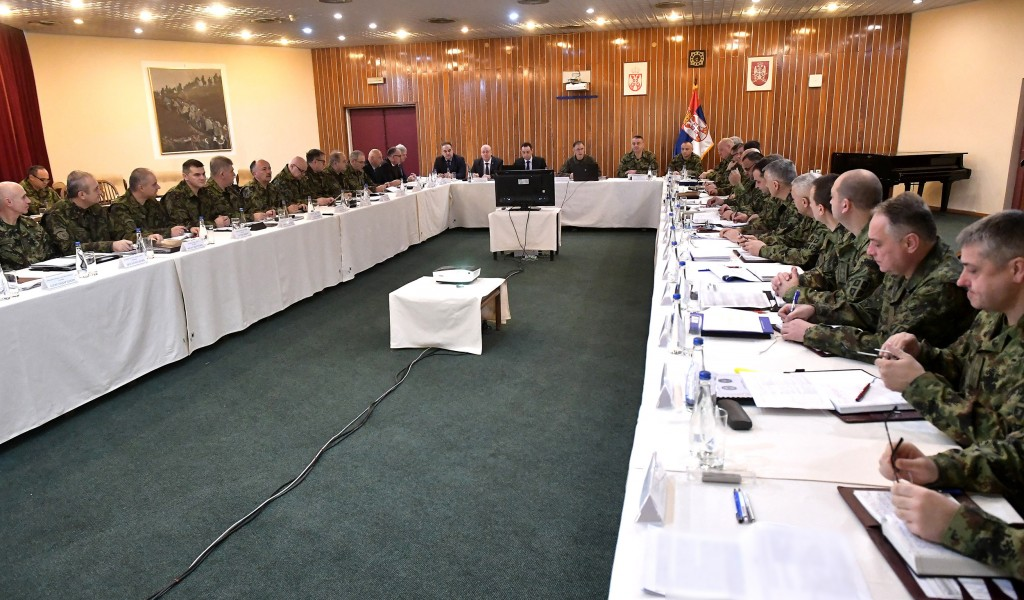 Joint session of the Collegium of the Minister of Defence and the enlarged Collegium of the Chief of General Staff
