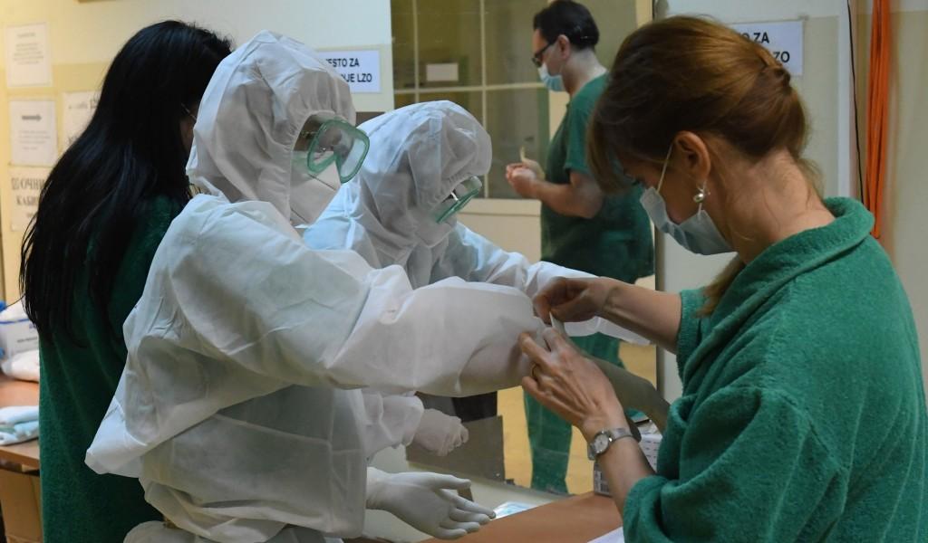 Vojno zdravstvo u borbi protiv virusa Kovid 19