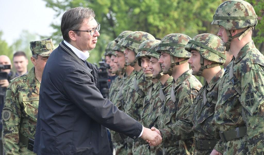 Председник Владе на Васкрс с припадницима 250 ракетне бригаде