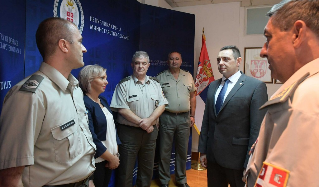 Minister Vulin The citizens of Serbia can rely on their armed forces