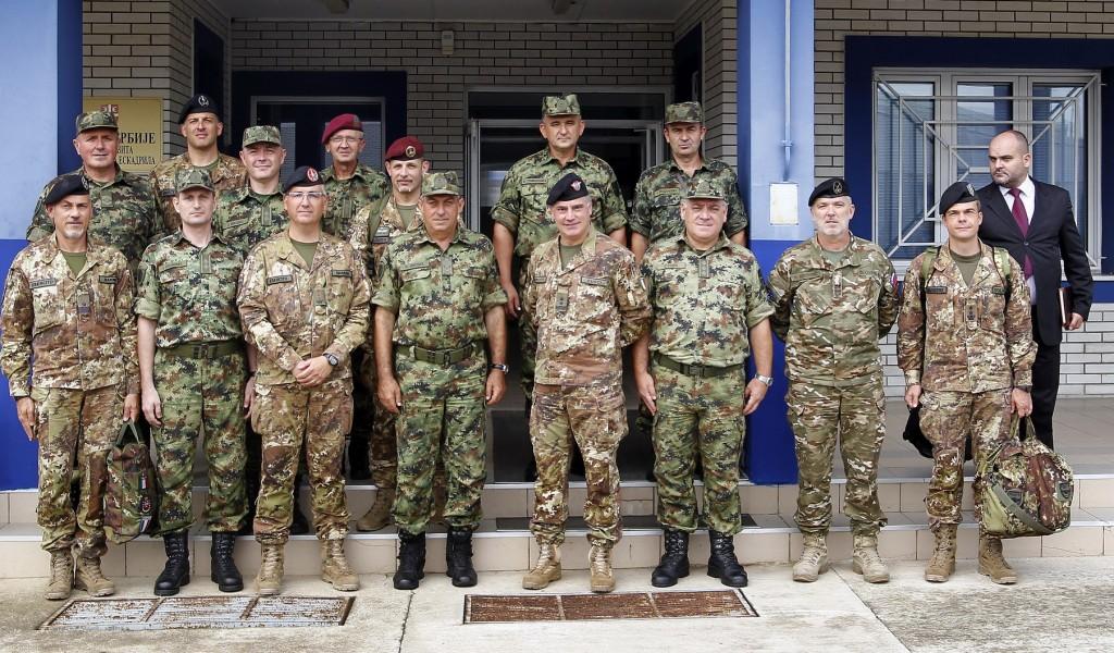 Састанак начелника Генералштаба с командантом Кфора
