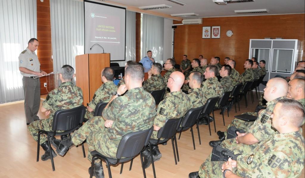 Завршен курс за штабне официре Уједињених нација