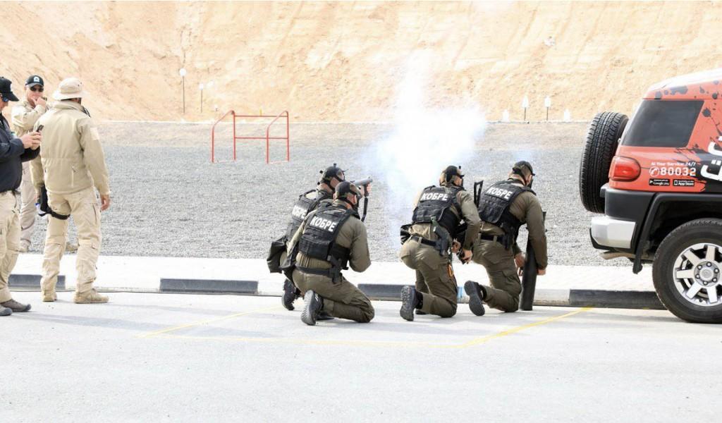 Тим Кобри на такмичењу специјалних јединица у Дубаију