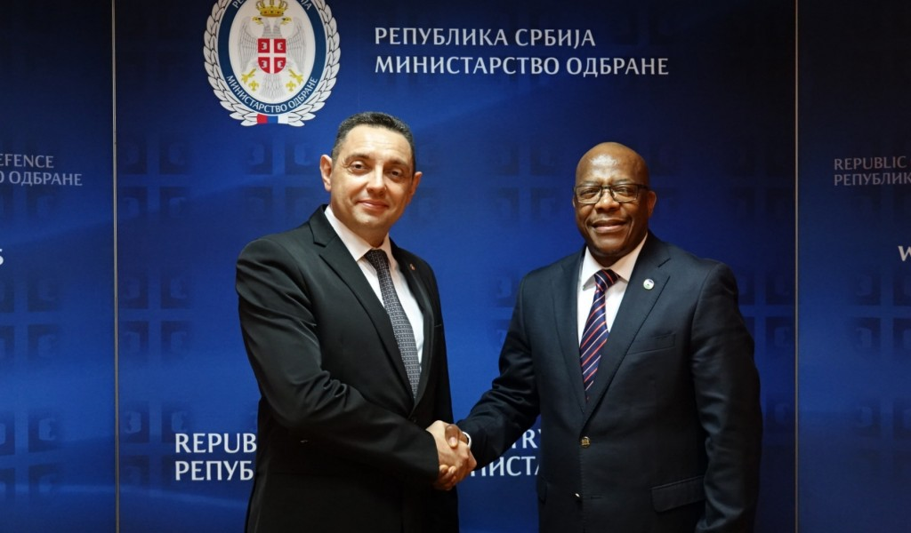 Minister Vulin meets Minister of Foreign Affairs of the Kingdom of Lesotho
