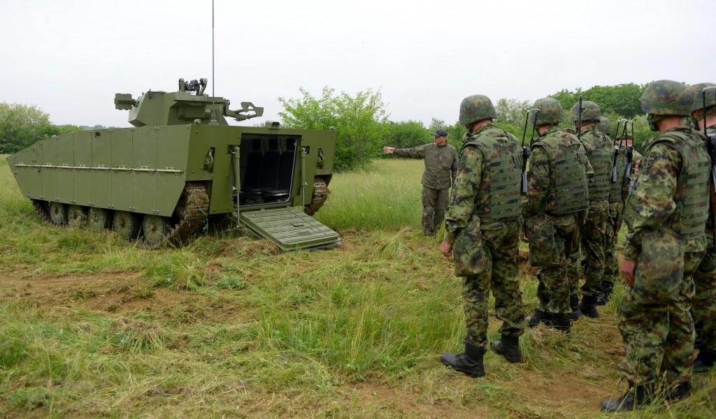 Модернизација борбеног возила пешадије