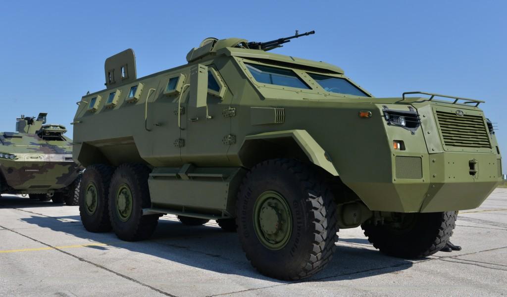 Висок ниво балистичке и противминске заштите новог оклопног борбеног возила М 20 MRAP 6x6