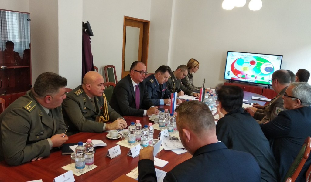 Visit of the delegation of the Ministry of Defense and the Serbian Armed Forces to Hungary