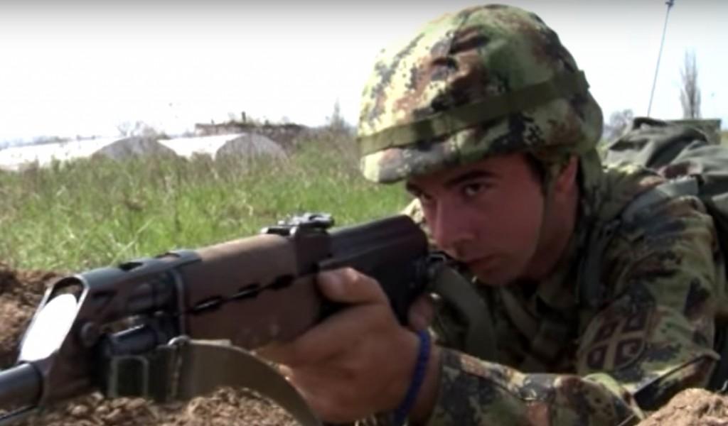 РТС Дозволите Милош из Африке у Војсци Србије