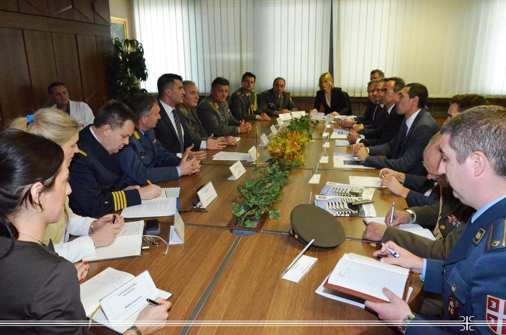 Хрватски министар одбране у посети ВМА