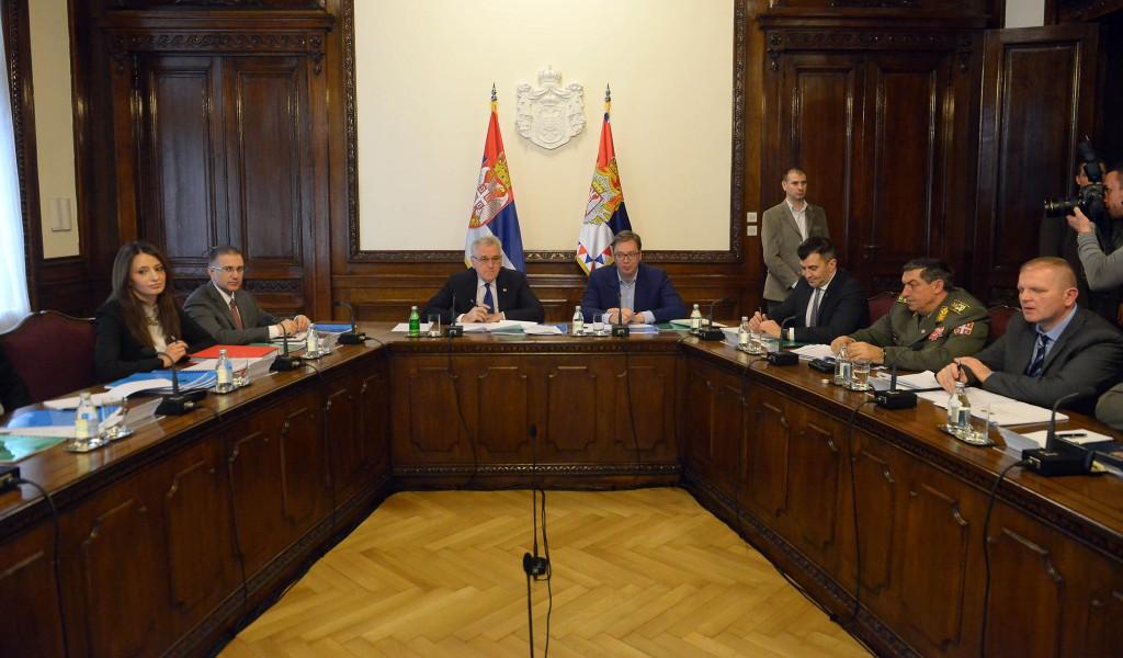 Седница Савета за националну безбедност