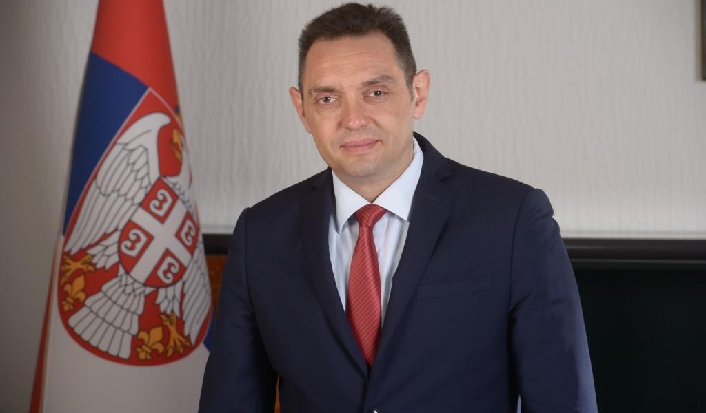 Честитка министра Александра Вулина министру одбране Руске Федерације Сергеју Шојгуу поводом Дана победе