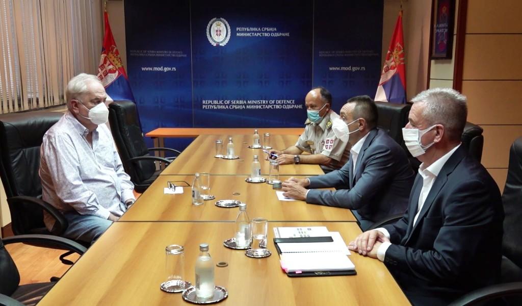 Састанак министра Вулина са председником Олимпијског комитета Србије