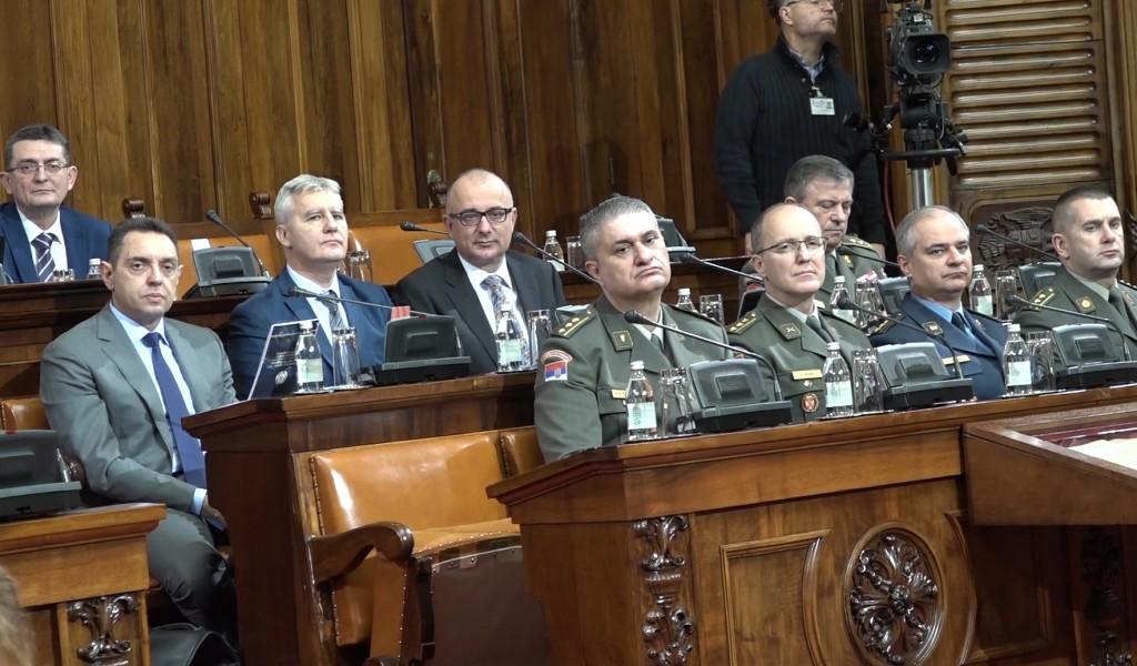 Народна скупштина усвојила стратегије одбране и националне безбедности Републике Србије