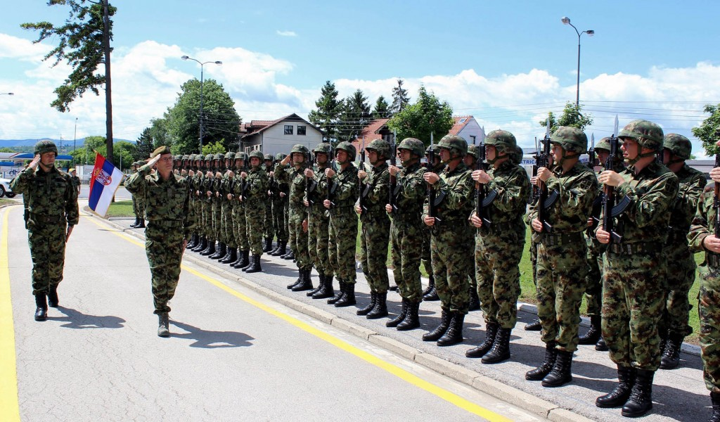 Начелник Генералштаба у обиласку Треће бригаде Копнене војске