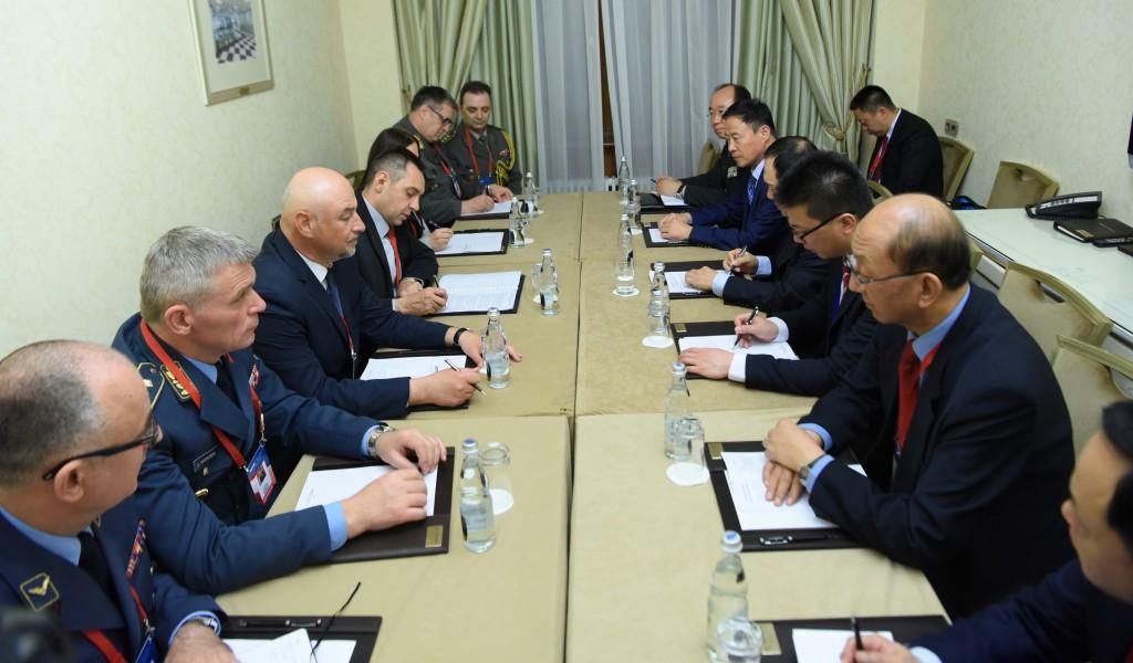 Састанак министра Вулина и кинеског колеге Веи Фенгхеа