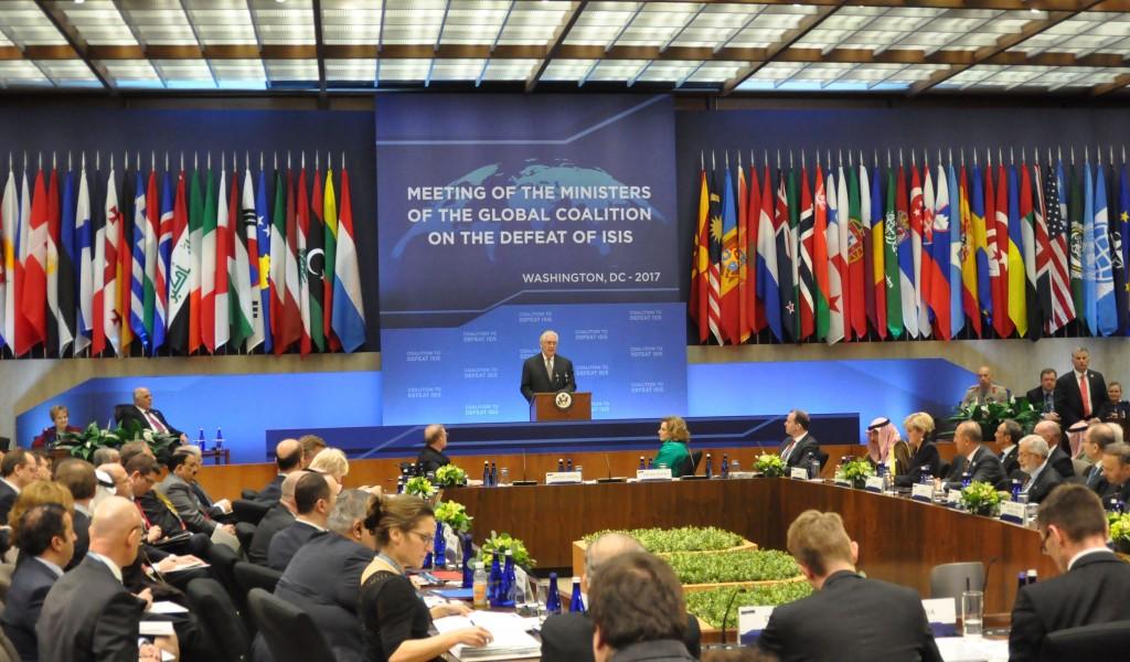Ministar odbrane na sastanku Globalne koalicije protiv ISIL a