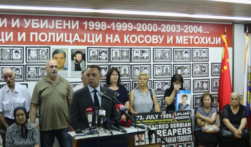 Minister Vulin The international community should repeat the investigation into the massacre of the Serbs in Kosovo and Metohija