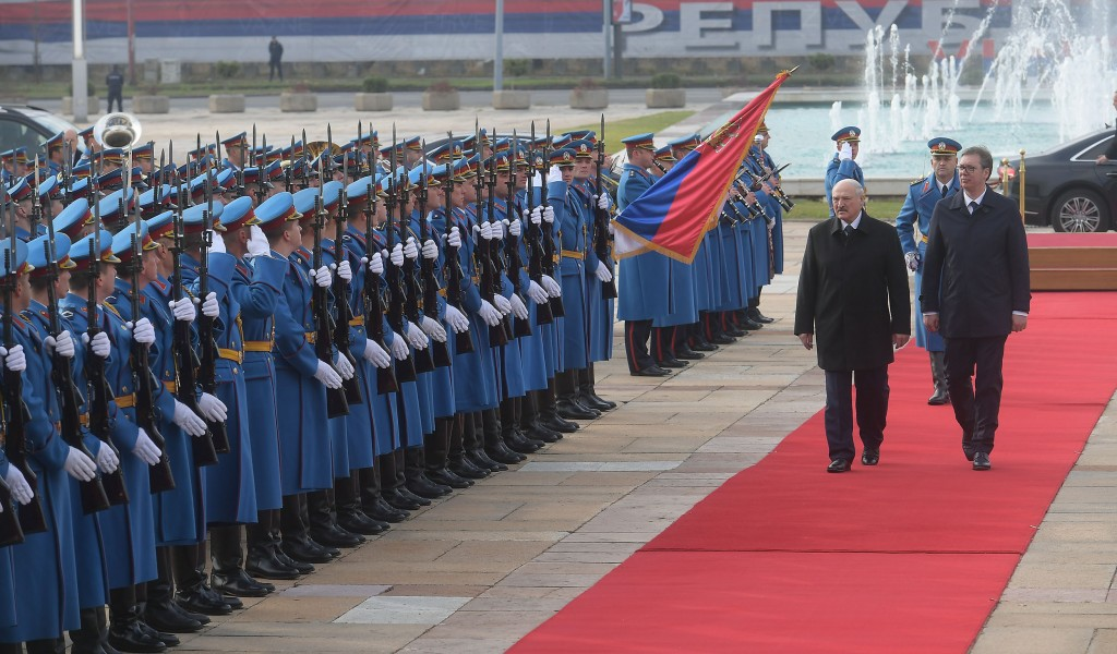 Visit from the President of the Republic of Belarus Alexander Lukashenko to the Republic of Serbia