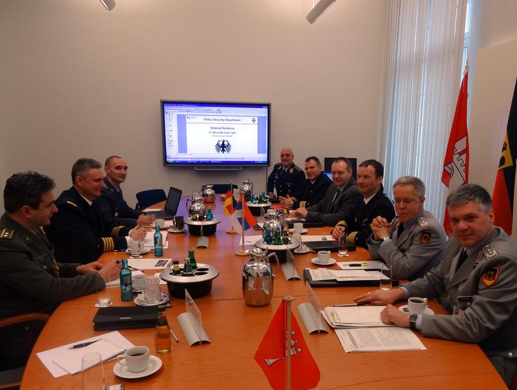Политичко безбедносне консултације са Савезним министарством одбране Немачке