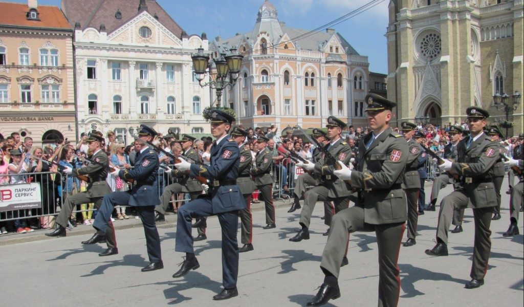 Celebrations on the occasion of Serbian Armed Forces Day in the cities of Serbia
