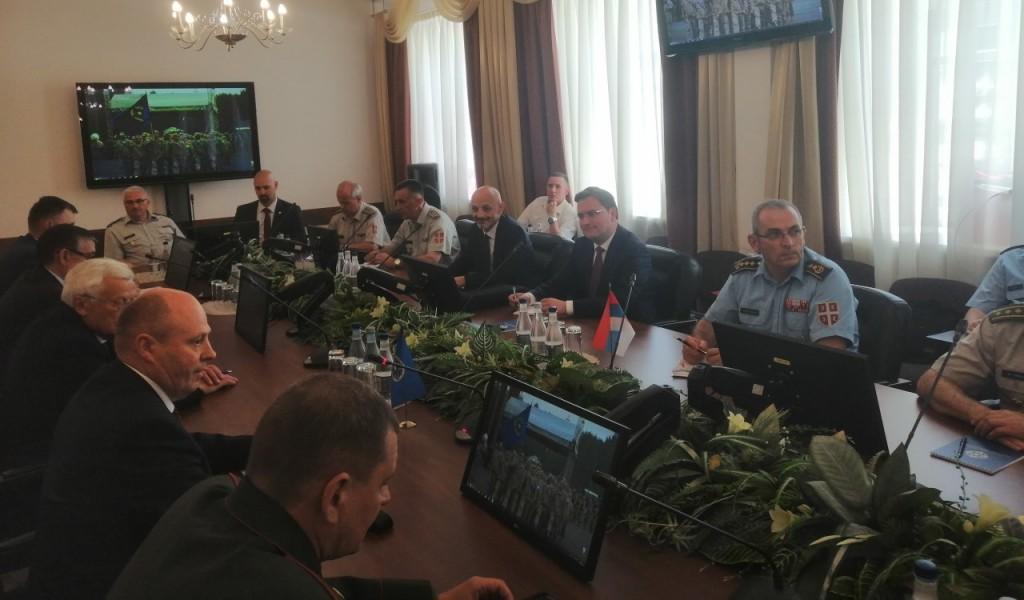 Poseta polaznika Visokih studija bezbednosti i odbrane Ruskoj Federaciji