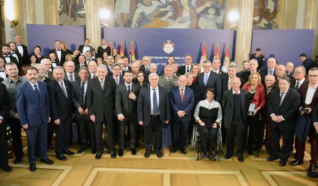 Одликовања поводом Дана државности Србије