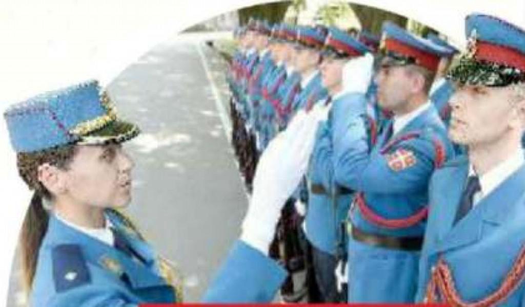 Плави строј је највиша почаст Србије
