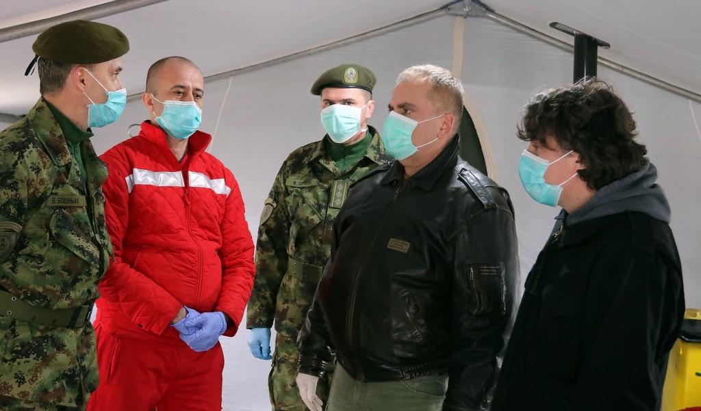 Zaštitnik građana Pašalić u Prihvatnom centru u Subotici Obezbeđeno je sve što je potrebno za boravak lica u ovom prostoru