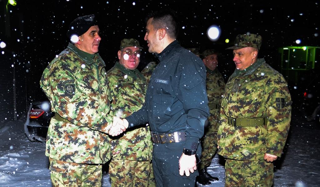 Министар одбране у Нишу