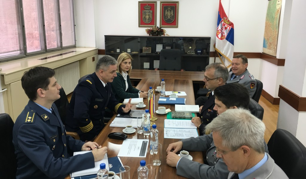 Confirmation of intensified defence cooperation with Federal Republic of Germany