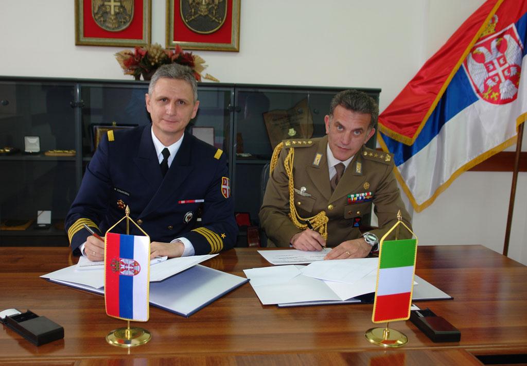 Потписан План билатералне војне сарадње Србије и Италије
