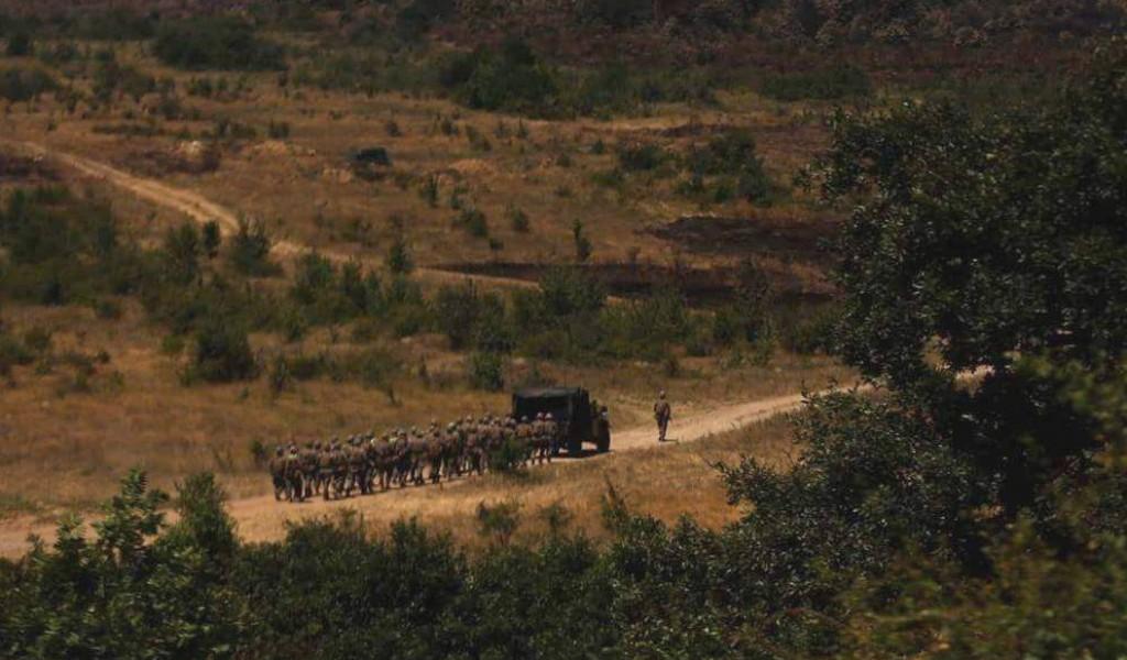 Припадници 21 пешадијског батаљона на вежби Platinum Lion 17 2 у Бугарској