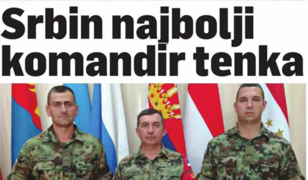 Србин најбољи командир тенка