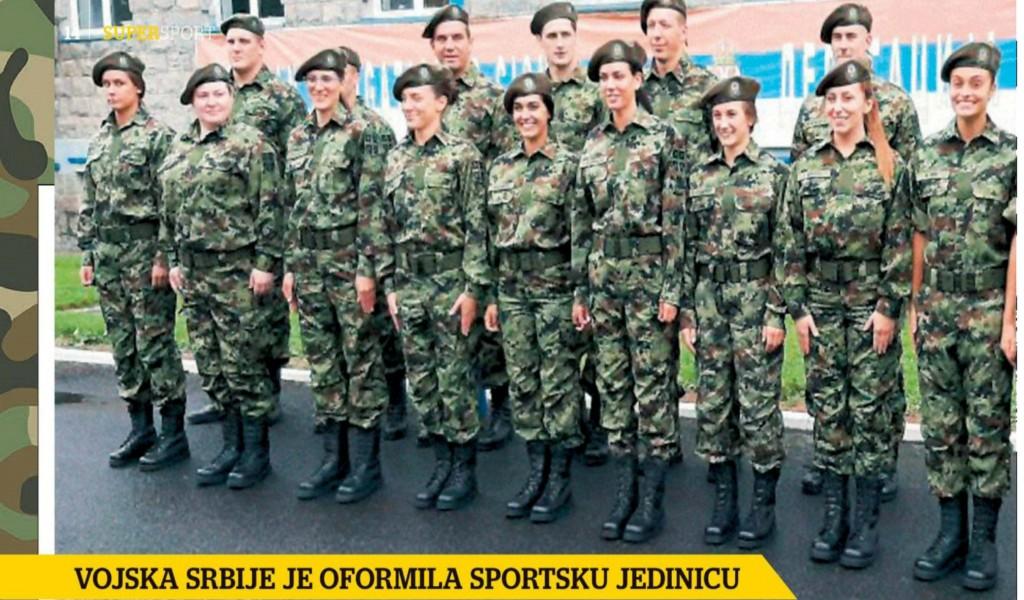 Sportisti u uniformi