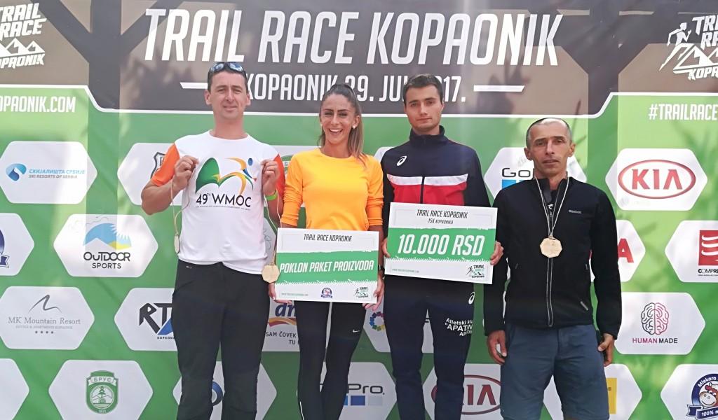 Uspeh pripadnika Vojske Srbije na trejl trci Kopaonik 2017