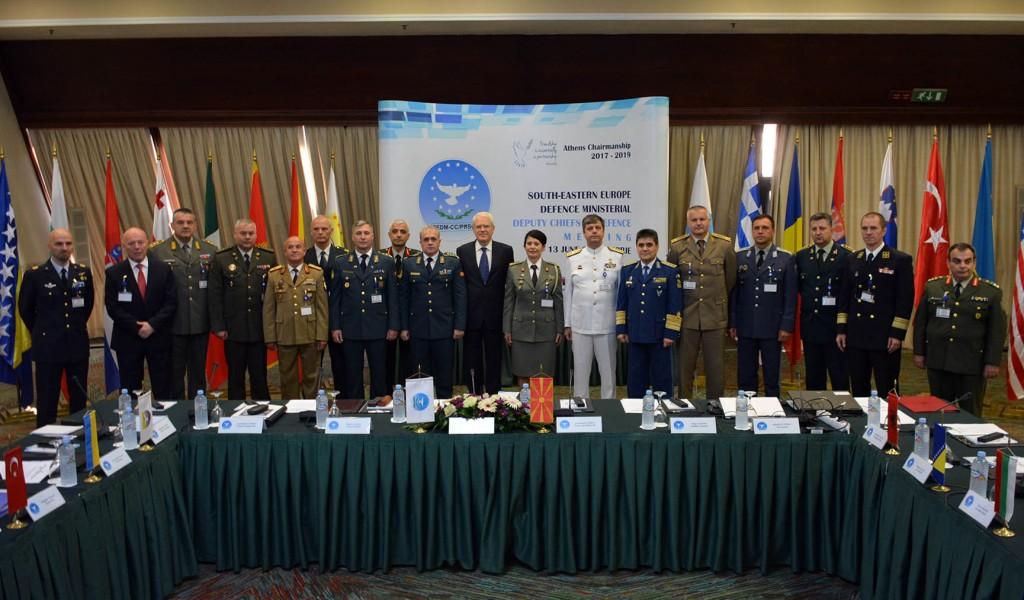 Sastanak SEDM na nivou zamenika načelnika generalštabova