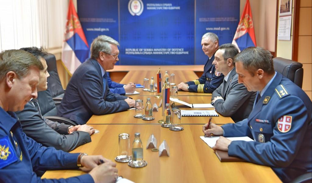 Састанак министра Вулина и амбасадора Чепурина