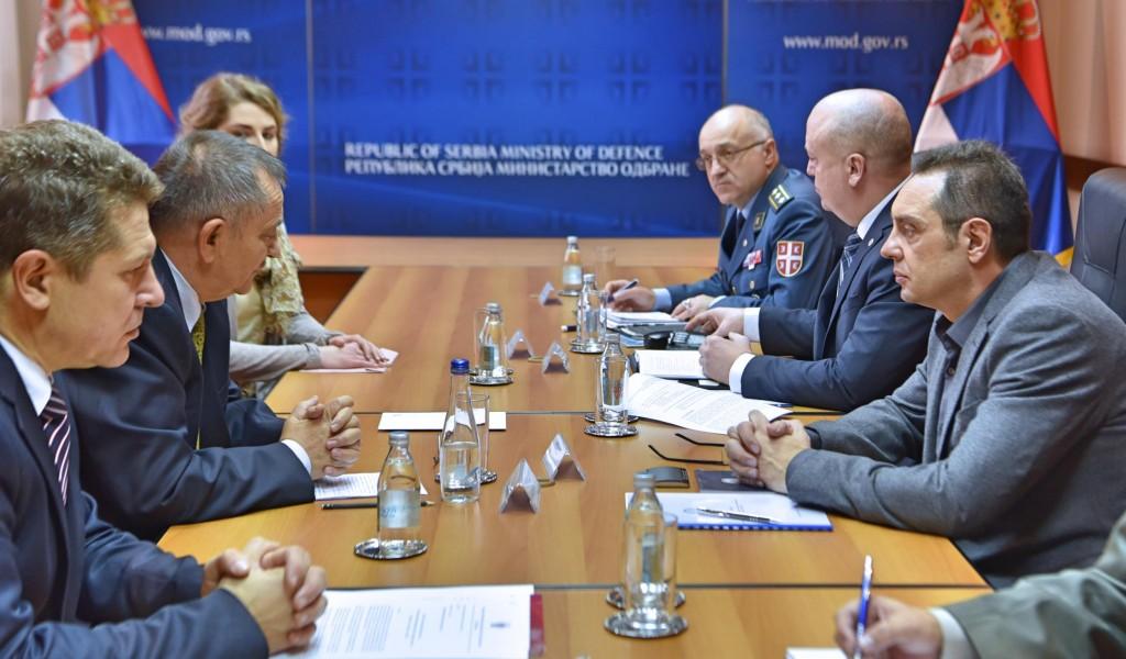 Sastanak ministra odbrane sa rukovodstvom Saveza organizacija rezervnih vojnih starešina