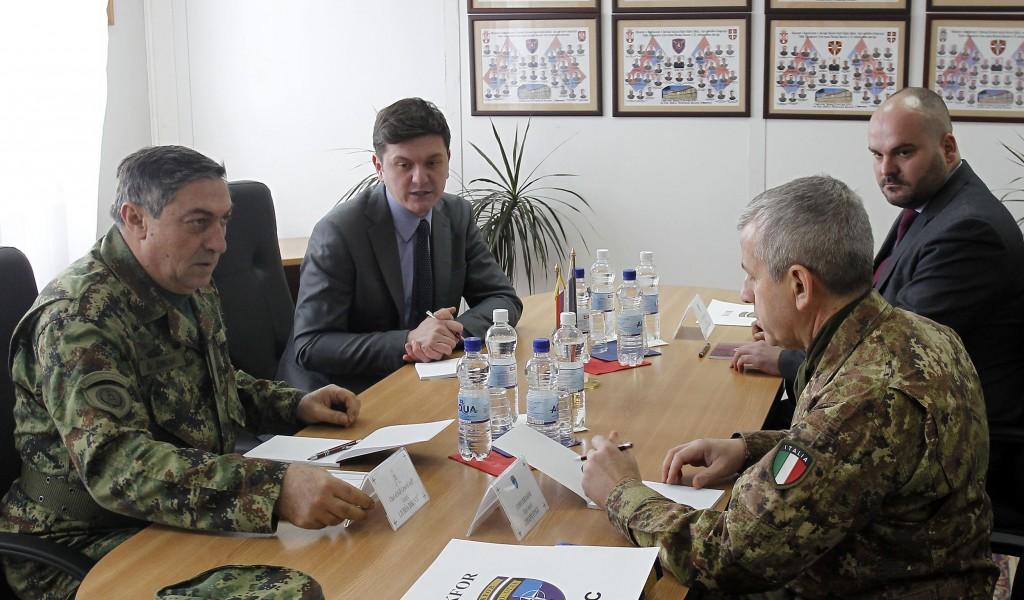 Sastanak načelnika Generalštaba i komandanta KFOR