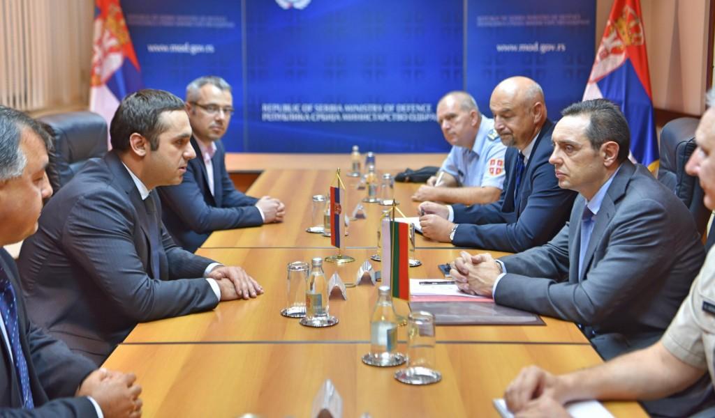 Унапређење војноекономске сарадње са Бугарском